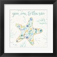 Seaside Blossoms II Framed Print