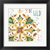 Little Jewels Words II Framed Print