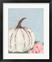 Framed Pumpkin I
