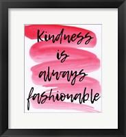 Framed Kindness
