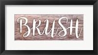 Framed Brush