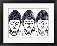 Framed Buddha III