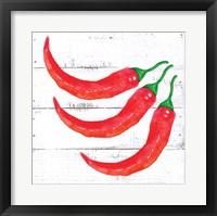 Framed Farm Fresh Peppers