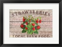 Framed Strawberries