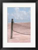 Framed Beach Volleyball Net