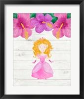 Framed Princess Flowers