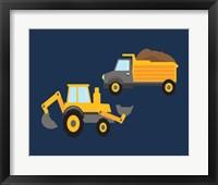 Framed Construction Wash Brush Trucks