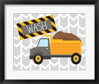Framed Construction Wash