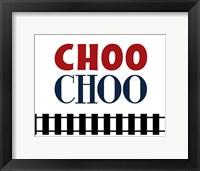 Framed Choo Choo