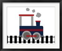 Framed Train Tracks