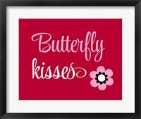 Framed Butterfly Kisses