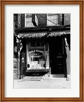 Framed 1930s Pharmacy Storefront