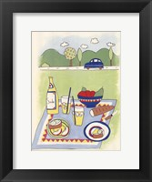 Framed Country Picnic