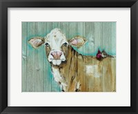 Framed Cow with Friends