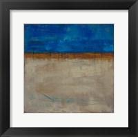 Framed Be Still Abstract