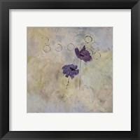 Framed Purple Flower I