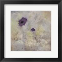 Framed Purple Flower II