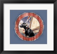 Framed Sea Faring Dog