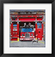 Framed Fire House