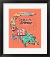 Framed Gator