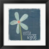 Framed Faith, Hope, Love