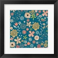 Framed Flowery