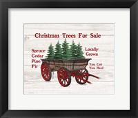 Framed Christmas Trees for Sale