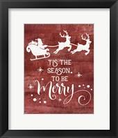 Framed Season to be Merry