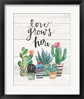 Framed Love Grows Here