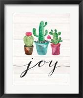 Framed Cacti Joy