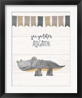 Framed Later Alligator