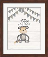 Framed No More Monkeys