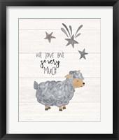 Framed We Love Ewe
