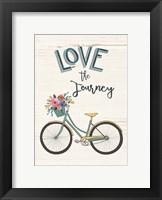Framed Love the Journey