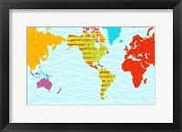 Framed Color Map II