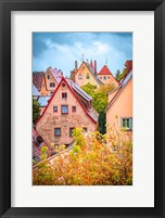 Framed Fall Colors of Rothenburg II