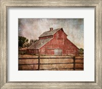 Framed York Road Barn