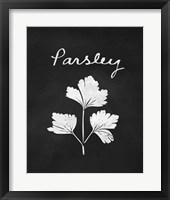 Framed Parsley