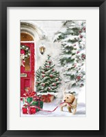 Framed Puppy Holiday