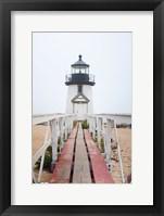 Framed Brant Point Lighthouse