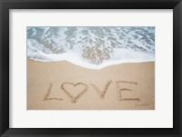 Framed Beach Love II