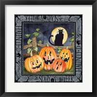Framed Haunting Halloween Night I