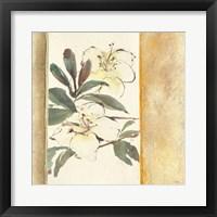 Framed Ochre Rhododendron
