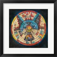 Framed Kachina Basket