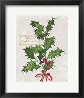 Framed Joyful Tidings VI