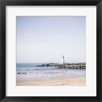 Framed Lighthouse Pastels
