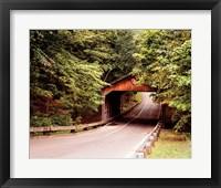Framed Covered Bridge