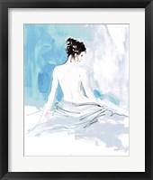 Framed Nude I Blue
