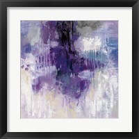 Framed Violet Rain