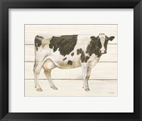 Framed Country Cow VII